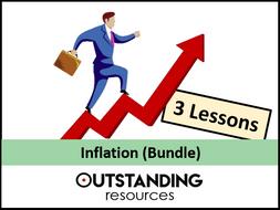 Economics: Inflation Bundle (3 Lessons)