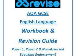 AQA GCSE English Language Workbook, Revision Guide and Intensive Practice Bundle!
