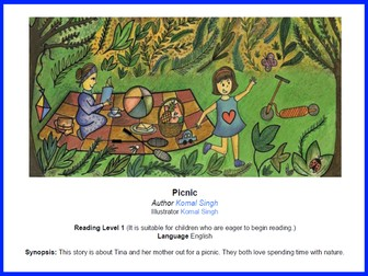 Can you spot it? Picnic - Reading Level 1