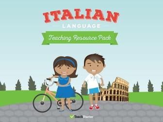 Italian Language - Teaching Resource Pack