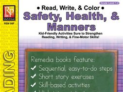 Read, Write, & Color: Safety, Health, & Manners
