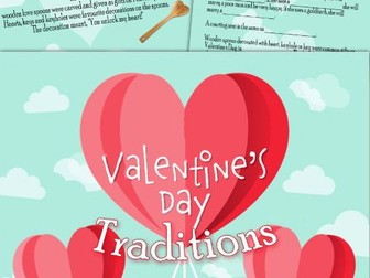 Valentine´s Day Traditions