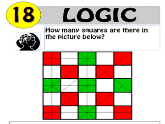 Logic Puzzle 18 of 20 (with solution)
