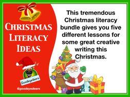 Christmas Literacy Bundle for KS2