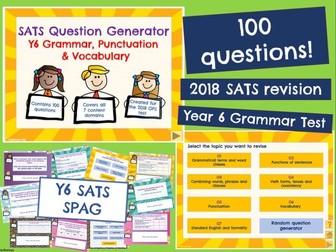 Y6 SATS: SPAG  (KS2 Last minute revision)
