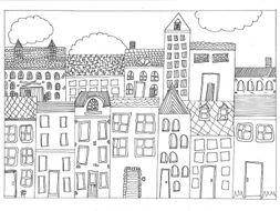 Houses, Homes, Buildings, Settlements Bundle