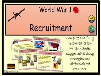 Recruitment in World War 1