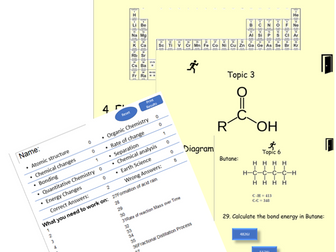 Edexcel GCSE Chemistry2019 - Self marking!