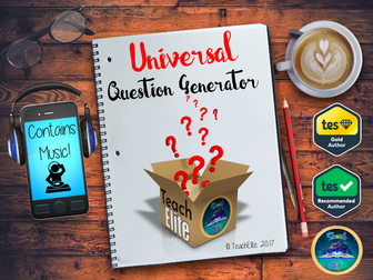 New Year : Question Generator - Interactive!