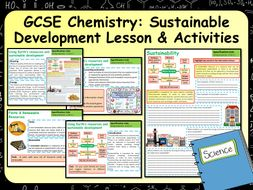 KS4 AQA GCSE Chemistry (Science) Using the Earth's Resources & Sustainability Lesson