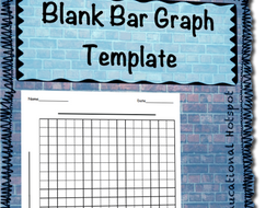 blank bar graph template by myeducationalhotspot teaching