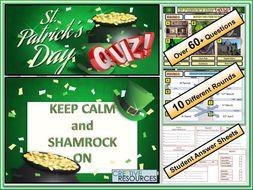 St Paddy's Day Quiz: St Patrick's Day - FUN/C8/QZ/44