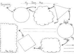 Storyboard and story map worksheet KS1 by ClassBerry