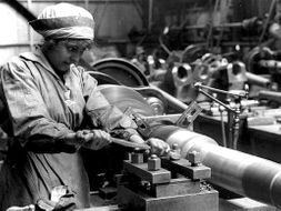 How far did World War 1 improve the position of women in society?