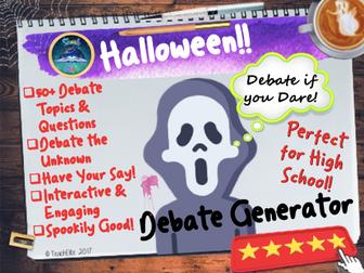 Halloween Debate Generator