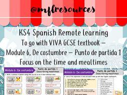 KS4 Spanish - Viva GCSE - Module 6 - Punto de partida 1