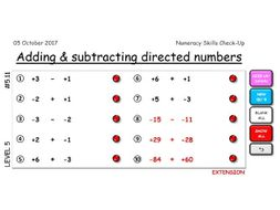 Infinite Numeracy Questions Practice