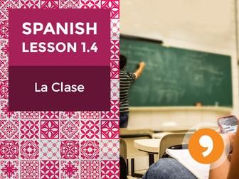 Spanish Lesson 1.4: La Clase - Class