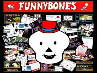 Funnybones story teaching resources  ourselves literacy display bones science ourselves
