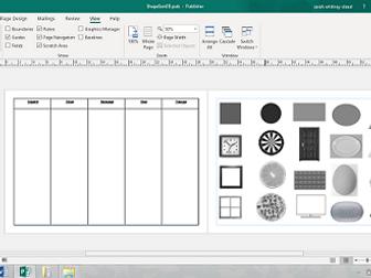 2D Shape sorting