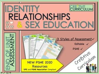 Relationships RSE PSHE Assessment