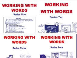 160-lesson Working With Words Series 1-4 Scheme of Work Bundle