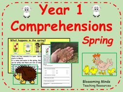 Year 1 Reading Comprehension - Spring