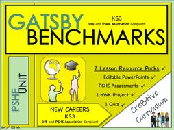 KS3 Careers Unit - Gatsby Benchmark Standards
