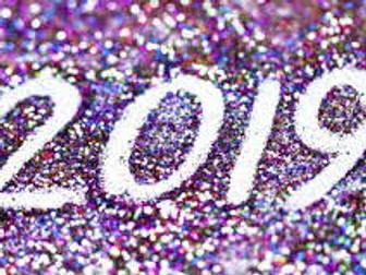 My New Year's Resolutions for home and school - PSHE - 2019