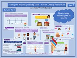 Year 5 - Editable Converting Units of Time Teaching Slides - White Rose Style