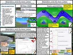 Rivers: Meanders & Ox-bow Lakes