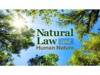 Natural Law (EdExcel A Level Religious Studies)