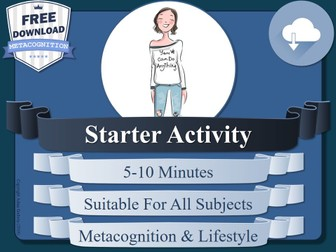 Metacognition Starter Activity (B)