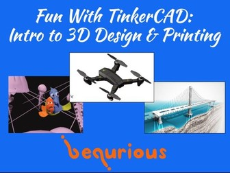 Fun with TinkerCAD - Session 1 - Intro to 3D Design