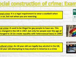 FREE SAMPLE LESSON POWERPOINT: GCSE Sociology (Eduqas) - Introduction to Crime and Deviance
