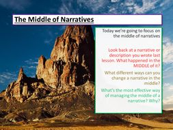 Structure and Narratives