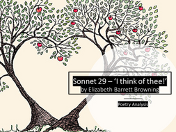 Gcse Poetry Sonnet   I Think Of Thee By Elizabeth Barret  Gcse Poetry Sonnet   I Think Of Thee By Elizabeth Barret Browning English Essay Topics For College Students also My School Essay In English  Online Bibliography Maker