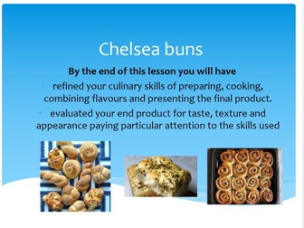 GCSE Food and Nutrition lesson bundle for dough products