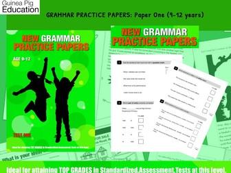 Practise SATS SPAG Grammar Tests (Pack 1) 9-12 years