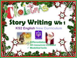 Christmas Story Writing KS2 English Lessons Week 1