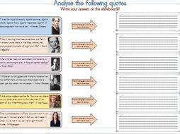 Analyse Quotes Fiction English Language