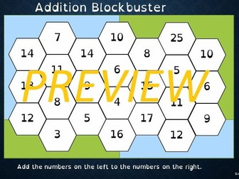 Addition  Game  (Maths,  Dyscalculia)