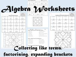 Algebra  Colour by Number Bundle