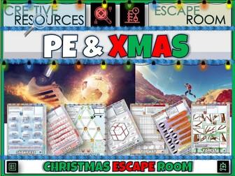 PE & SPORT Christmas Escape Room