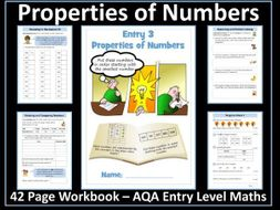 AQA Entry Level Maths: Properties of Number