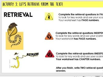 Year 5/6: Whole Class Reading - Land of Roar 18-19 - RETRIEVAL lesson - SATS-STYLE