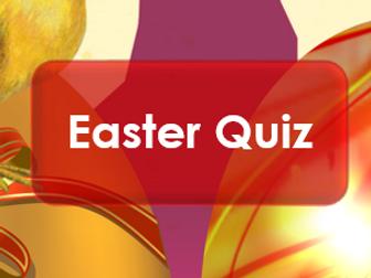 Easter 2017 Quiz