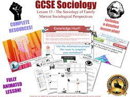GCSE Sociology - Marxist Perspectives Bundle (AQA) 4 Complete lessons