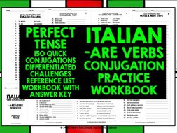 ITALIAN ARE VERBS CONJUGATION 2