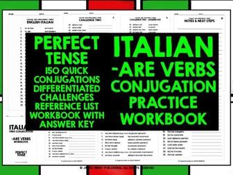 ITALIAN ARE VERBS CONJUGATION 2